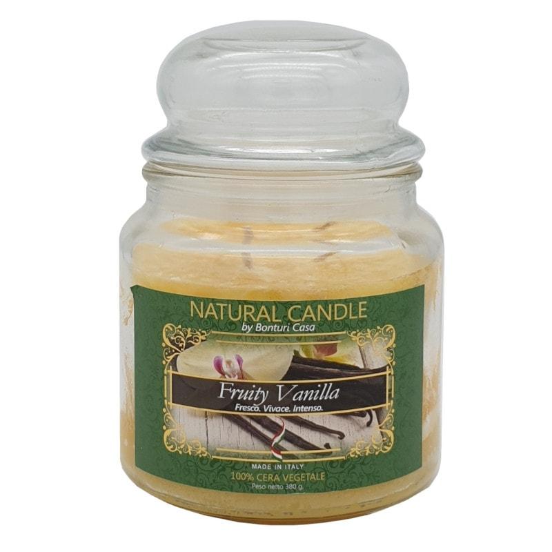 Nature Candle aroma naturale di Vaniglia Fruttata