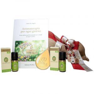 kit aromaterapia lavanda e tea tree flora natale