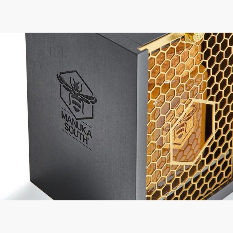 Manuka South, miele di Manuka UMF24+ teca faggio e oro
