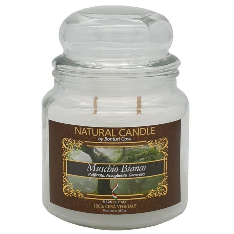 Nature Candle Muschio Bianco 380 grammi