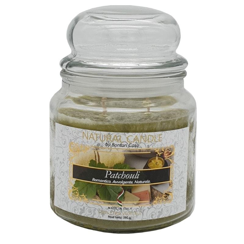 Nature Candle aroma Patchouli 380 grammi