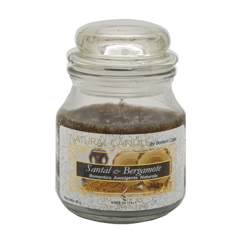 Nature Candle aroma Santal & Bergamote