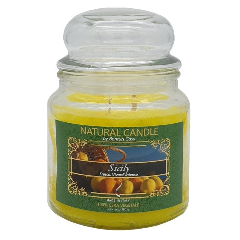 Nature Candle aroma Sicily 380 grammi