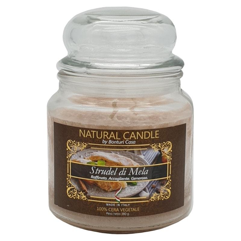Nature Candle aroma Strudel di Mela 380 grammi