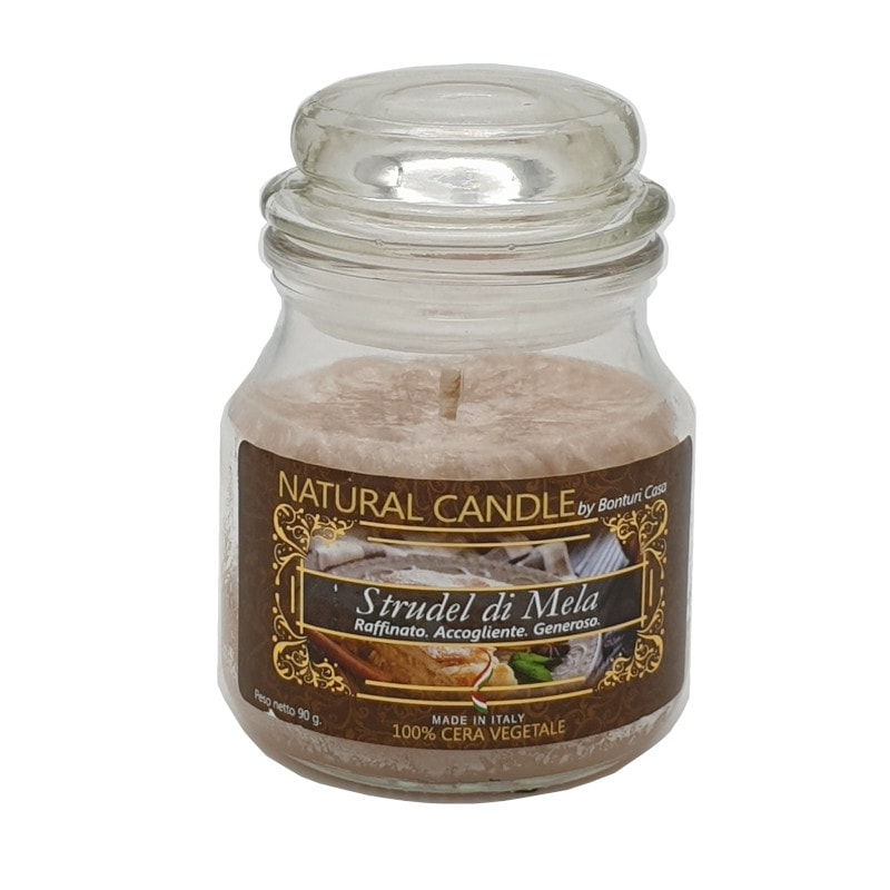 Nature Candle aroma Strudel di Mela