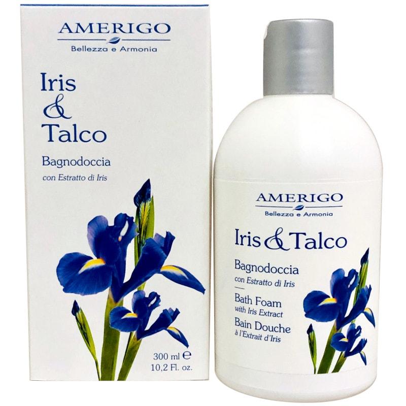 Amerigo iris & Talco bagnodoccia