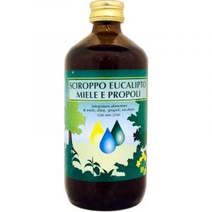 Sciroppo eucalipto miele e propoli