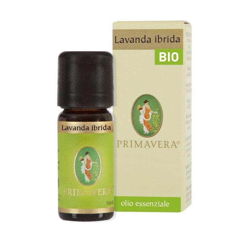 Olio essenziale Lavanda ibrida bio Flora