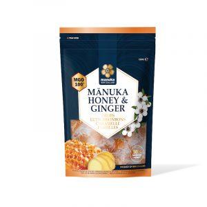 Caramelle con Miele di Manuka e Zenzero