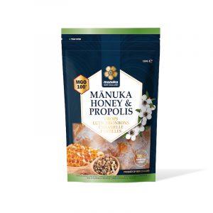 Caramelle con miele di Manuka crudo e Propoli