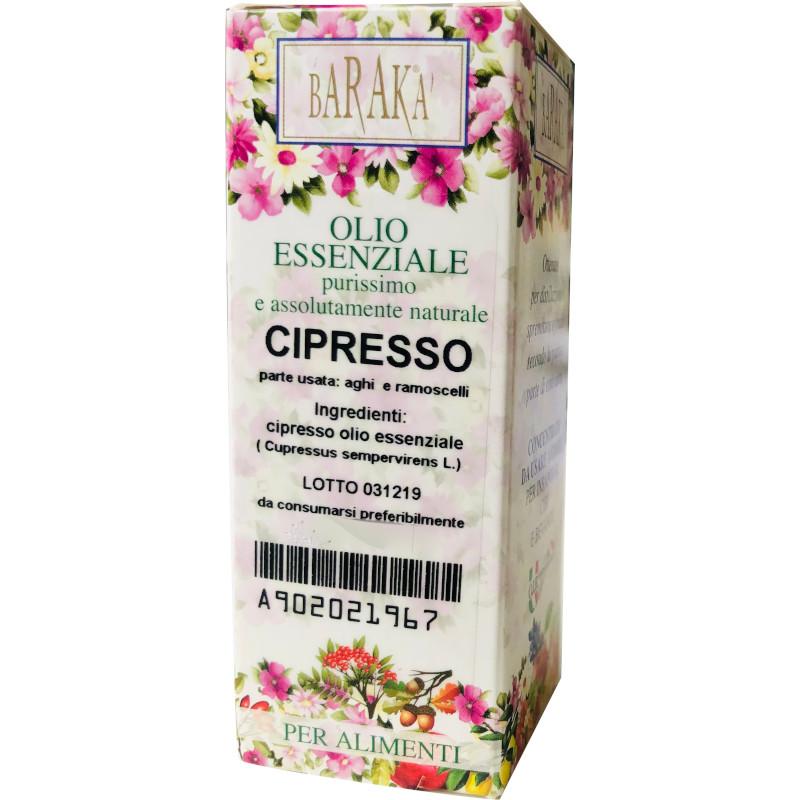 Olio Essenziale Cipresso purissimo e per alimenti