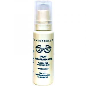 Spray antiappannante per occhiali