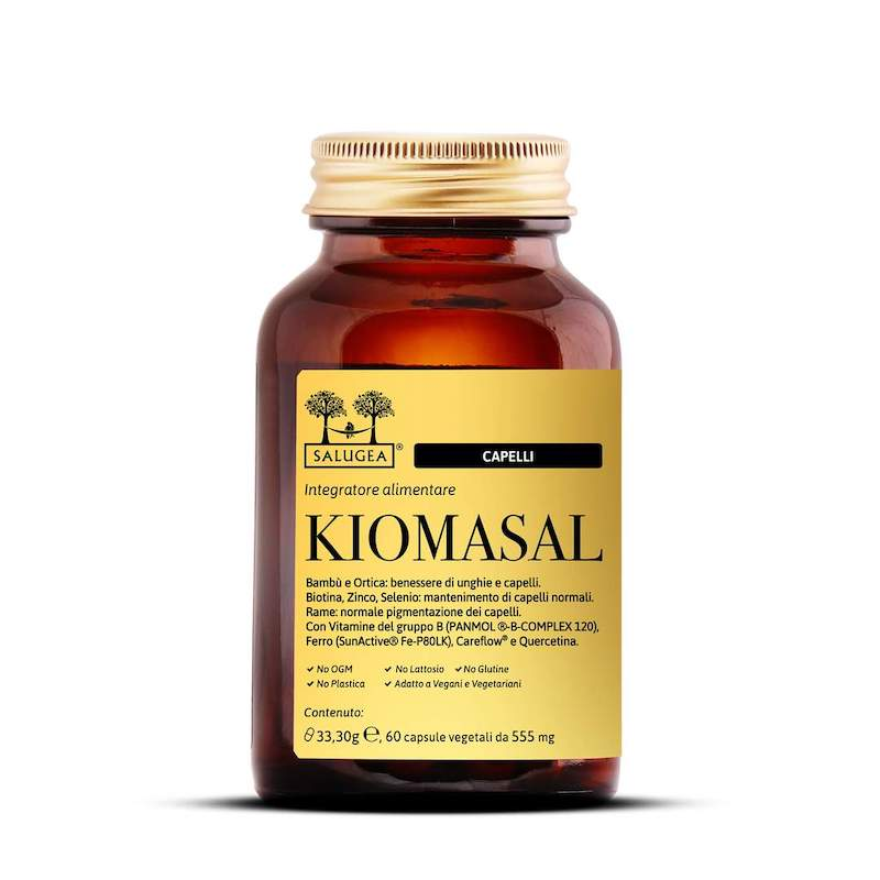 Salugea Kiomasal integratore per il benessere di unghie e capelli
