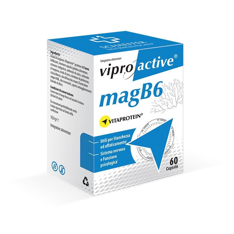 Viproactive MagB6 integratore di magnesio