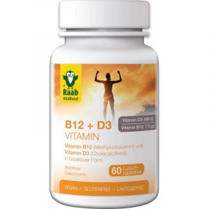 Vitamina B12 + D3 Raab Vitalfood
