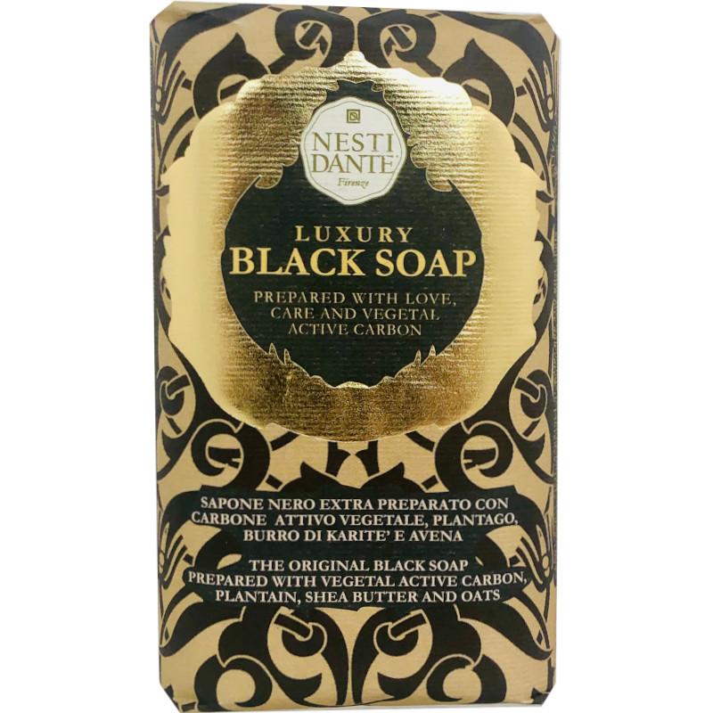 Luxury Black Soap Sapone Nero con carbone attivo