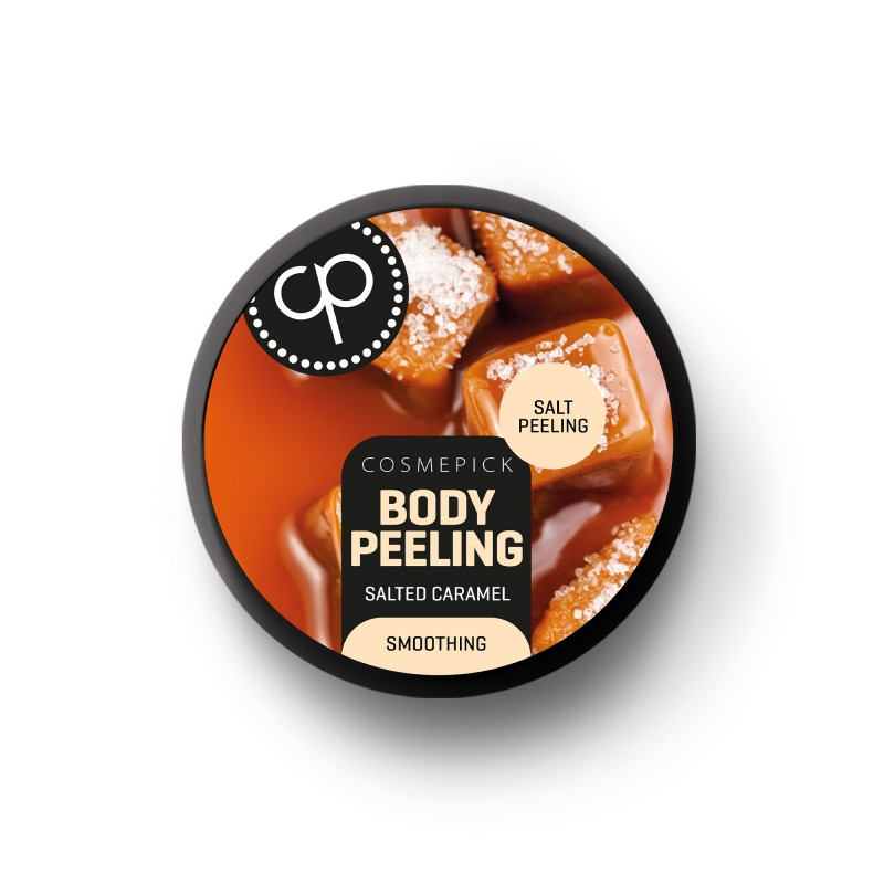 Body Peeling al caramello salato Cosmepick