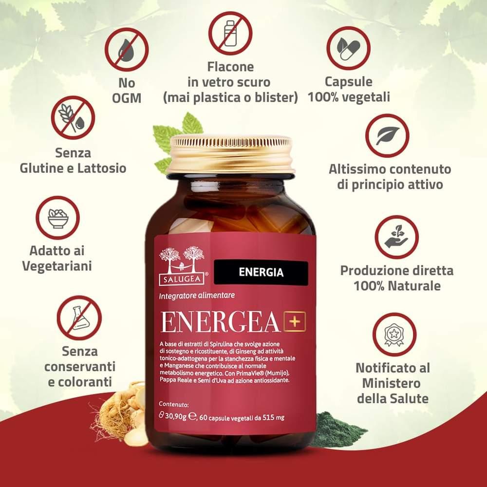 Energea + by Salugea più energia naturale