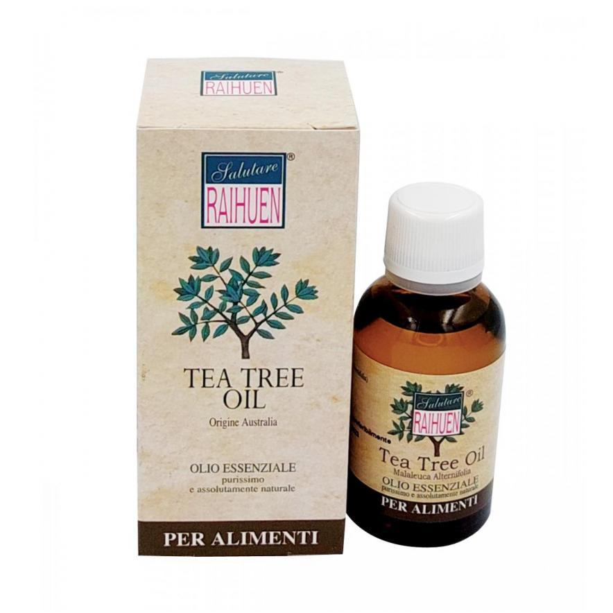 Olio essenziale Tea Tree purissimo Raihuen