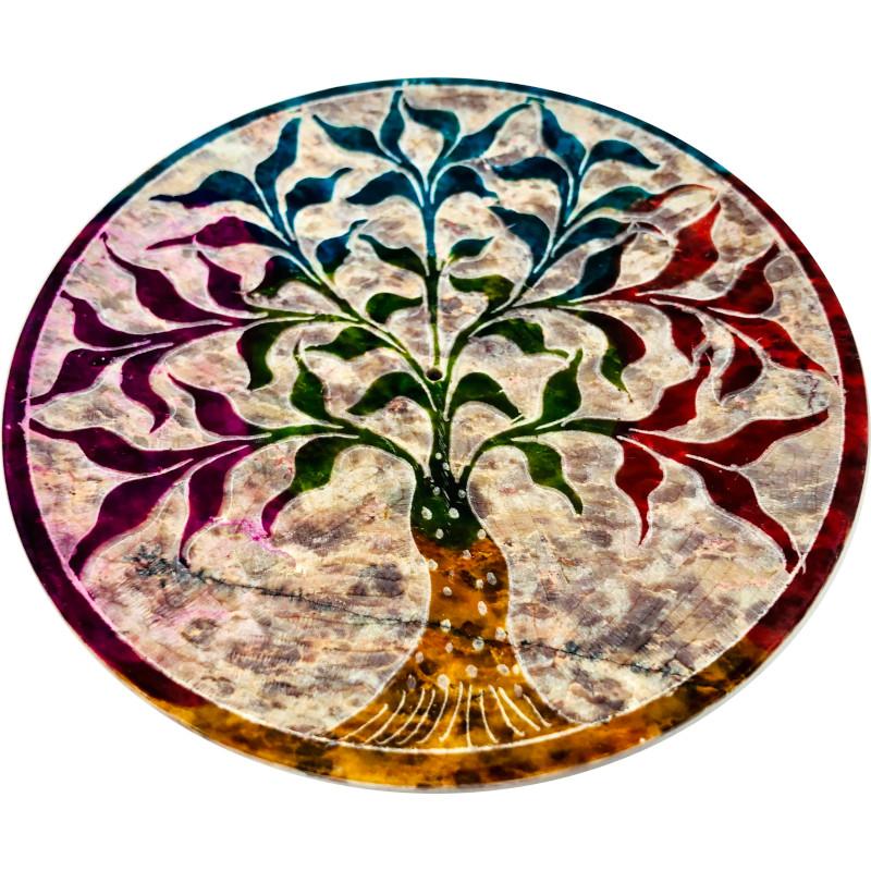 portaincenso pietra saponaria albero
