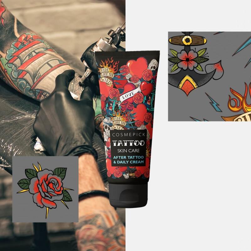 Tattoo cream daily care protezione dopo tatuaggio