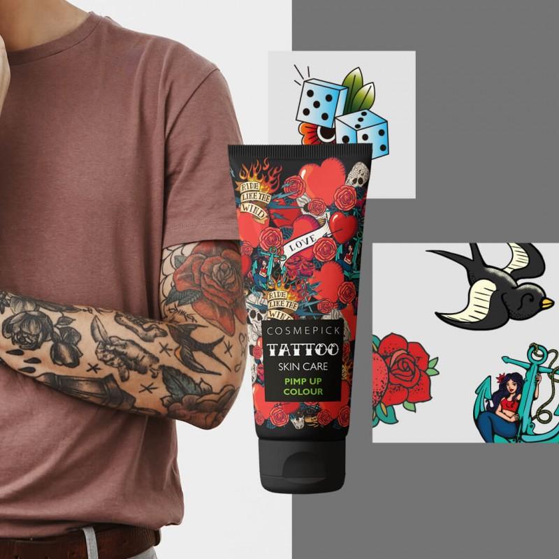 Siero per tatuaggi colorati Cosmepick
