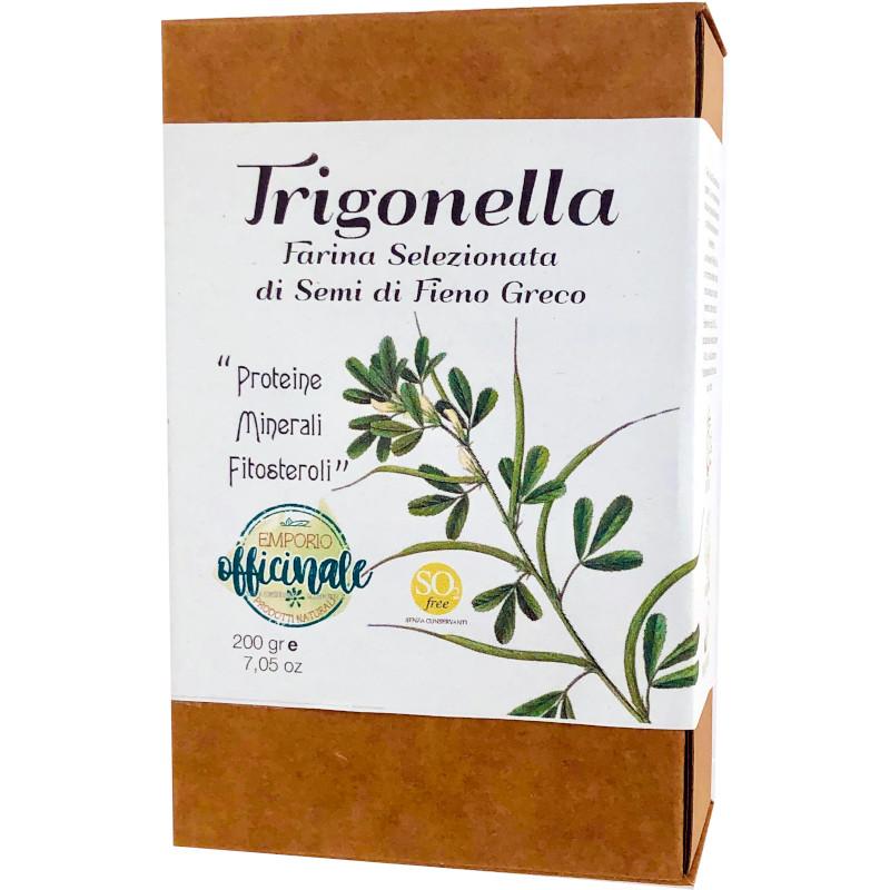 Fieno Greco Trigonella farina